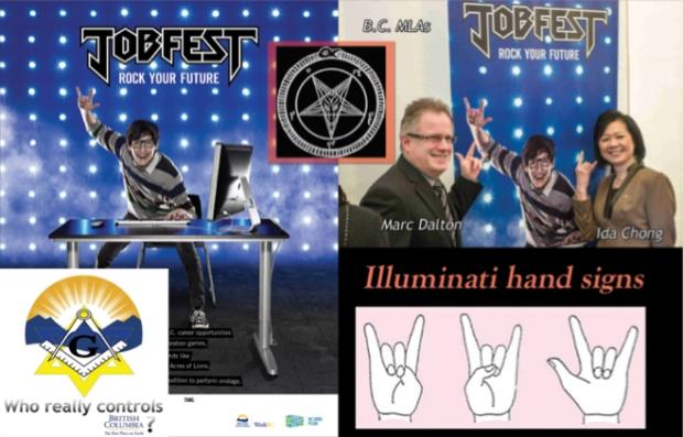 BC Liberals Illuminati
