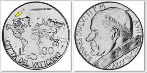 vatican-100-lire-coin-1985-pope-john-paul