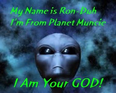 Alien Named Ronda