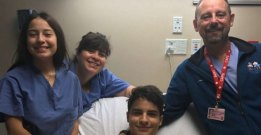 INSPIRATION When one Houston doctor couldn't get to his hospital, he jumped in a canoe.